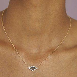 BaubleBar Kamari Druzy Pendant Necklace
